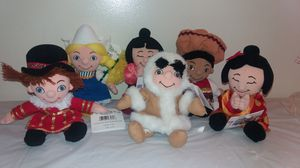 New with tags Disney complete Small World Beanie Babies for Sale in Westmont, IL