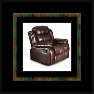 Burgundy recliner chair for Sale in Fairfax, VA