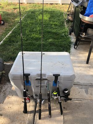 Fishing poles for Sale in Brighton, CO
