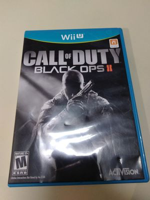 Call of duty Black Ops II for the Nintendo Wii U for Sale in San Antonio, TX