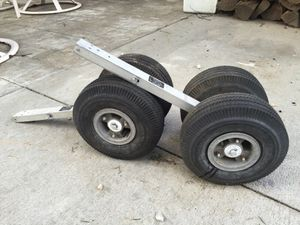 """Cheng shin 10"""" tires for kodiak boat $30 for Sale in Portland, OR"""