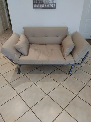 Futon Twin Bed LIKE NEW CONDITION for Sale in Boca Raton, FL