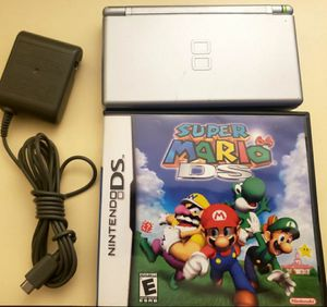 NINTENDO DS LITE GRAY W/SUPER MARIO 64DS + CHARGER EXCELLENT CONDITION 100%🔥🔥 for Sale in Escondido, CA