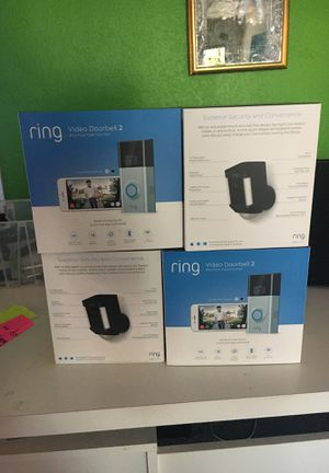 Ring Video Security Cameras $60 for Sale in San Diego, CA