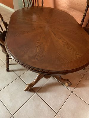Kitchen table high quality Amish made for Sale in Dunedin, FL