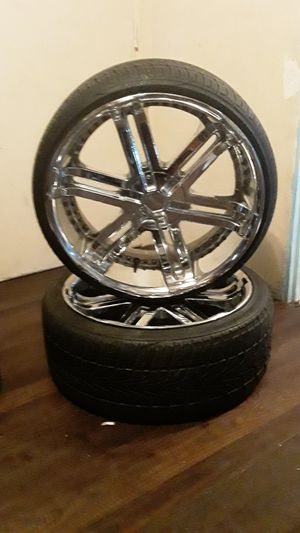 "Set of 4 Wheel Rims 22"" for GMC for Sale in San Diego, CA"