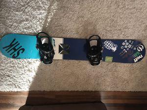 Private Label Snowboard with Burton Bindings & Dakine Bag for Sale in Fredericksburg, VA