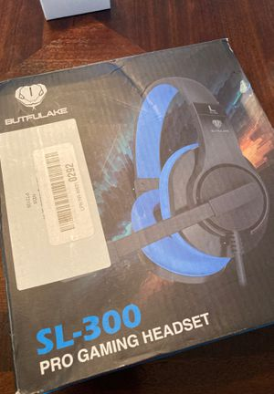 SL-300 Pro Gaming headset Xbox ps4 nintendo pc for Sale in Nashville, TN