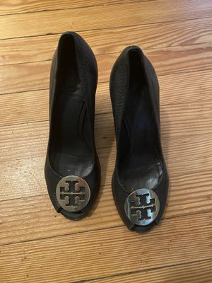 Tory Burch peep toe wedges - size 7 for Sale in Falls Church, VA