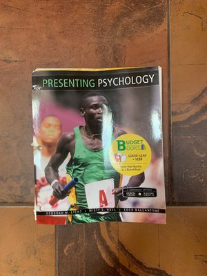 Looseleaf Psychology textbook for Sale in La Mesa, CA