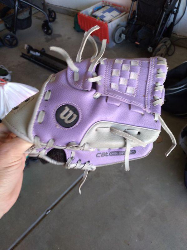 Wilson soft ball glove