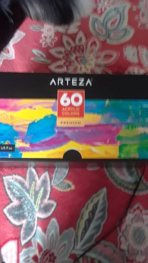 Arte za. Acrylic paints 60 colors! for Sale in Federal Way, WA