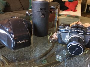Vintage Camera with lenses for Sale in Colorado Springs, CO