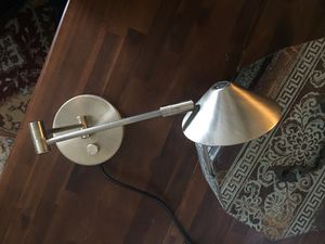 Wall Mount Reading Lamp w/dimmer Switch for Sale in South Glens Falls, NY