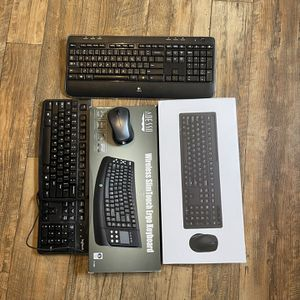 Assorted Keyboards. Some Wireless Some Corded! for Sale in Fort Lauderdale, FL