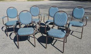 Armed Stackable Chairs $8 each 41 left for Sale in Virginia Beach, VA