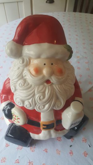 Santa Claus Christmas cookie jar for Sale in Delray Beach, FL