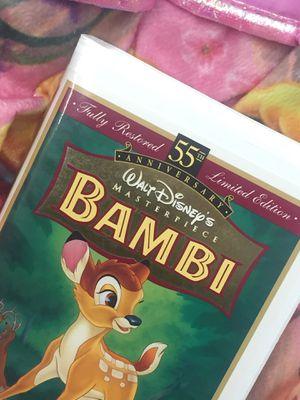 Bambi VHS fully restored 55th limited edition for Sale in Temple City, CA