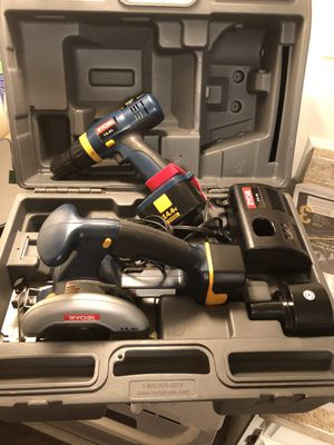 Ryobi 14.4v saw and drill combo for Sale in Chicago, IL