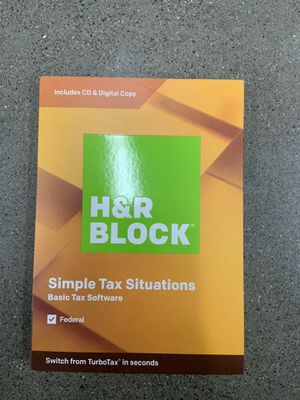 H&R Block Simple Tax situations for Sale in Rancho Cordova, CA