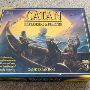 Catan Game: Explorers & Pirates extension for Sale in Columbia, MD