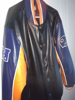 Leather NFL jacket for Sale in Macon, GA