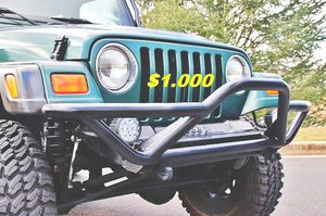 🔥🔑🔑$1000🔑🔑 For Sale URGENT 🔑🔑2000 Jeep Wrangler CLEAN TITLE🔑🔑 for Sale in Chicago, IL