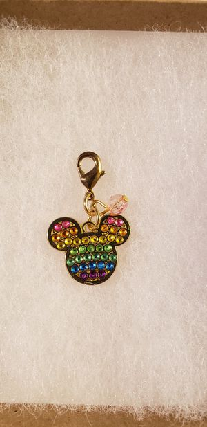 Disney rainbow Mickey Mouse charm for Sale in Ontario, CA