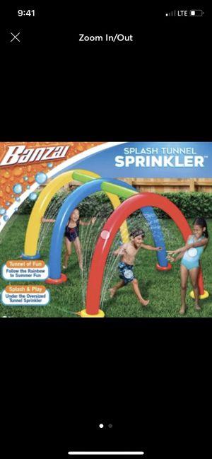 Banzai Tunnel Sprinkler for Sale in Sarasota, FL