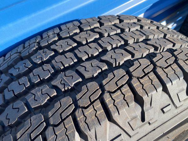 2020 Jeep Wrangler Wheels 245-75-17 6k Miles