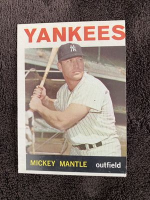 1964 Mickey Mantle Topps Baseball Card #50 for Sale in Fresno, CA