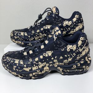 NIKE CAV EMPT X AIR MAX 95 BLACKENED BLUE MEN'S SHOES SIZE 10 NEW for Sale in Lewisville, TX