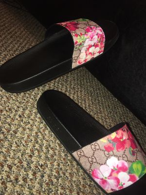 Rose Gucci Slides for Sale in Auburndale, FL