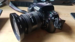Nikon N50 film camera & Nikkor 24-50mm f/3.3-4.5 lens for Sale in Burbank, CA