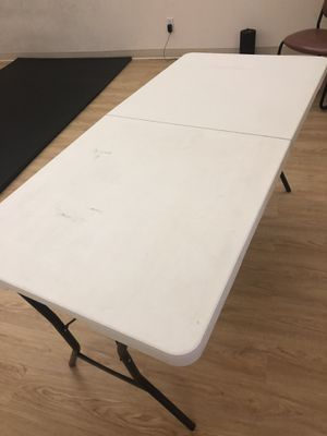 2 pieces of Folding table outdoor. for Sale in San Diego, CA