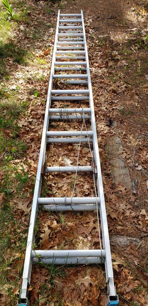 14x28 alum. Ext ladder for Sale in Plympton, MA