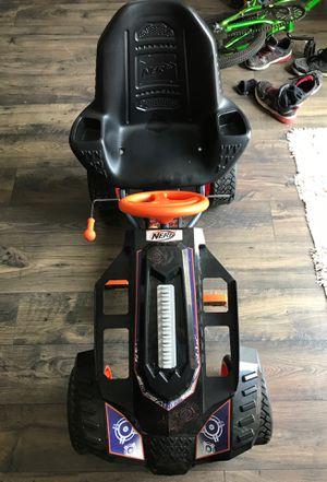 Nerf battle racer pedal car for Sale in Pendleton, IN