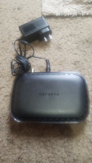 Netgear Cable Modem (CM400) and LinkSys 2.4 GHZ 54mbps Broadband Router for Sale in Springfield, OR