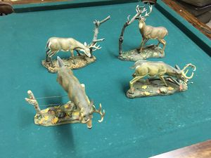 Deer statue collectibles for Sale in Dallas, GA