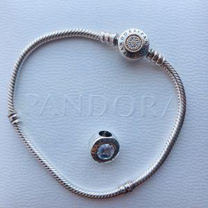 Pandora bracelet + 1 charm for Sale in Schaumburg, IL