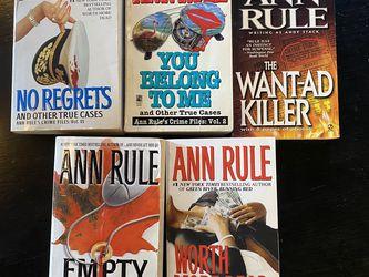 Ann Rule Books for Sale in Aurora,  CO