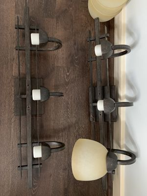 Farmhouse style light fixtures !! 50$$ for Sale in Frederick, MD