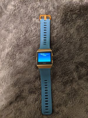 Fitbit Ionic Smartwatch with 2 Bands for Sale in Victorville, CA
