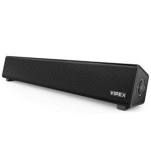 Computer Speakers, VIPEX Bluetooth PC Speakers Sound Bar, 10W Powerful Stereo Mini Soundbar Speaker for TV, Desktop, Laptop, Smartphone and Tablet, B for Sale in Union City, NJ