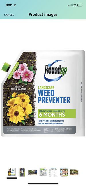 Bundle pack - 2 New RoundUp Landscape Weed Preventer (unopened) for Sale in Lake Villa, IL