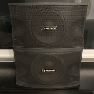 NISSINDO SPEAKERS for Sale in Pacifica, CA