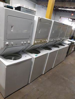 Stackable washer and dryer combo in excellent conditions $299.00 & Up for Sale in Baltimore, MD