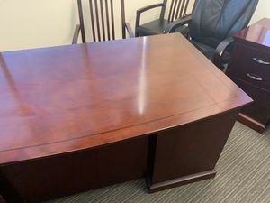 MUST GO THIS WKND - Office Furniture-Solid Wood - Cherry color for Sale in Allen, TX