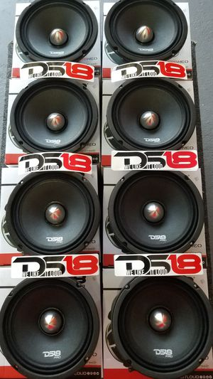 Ds18 Pro Neo Xtra Loud voice speakers and clear $70 each(1)/Bocinas Ds 18 Neo Se escuchan bien fuerte y claro $70 cada una (1) for Sale in Houston, TX