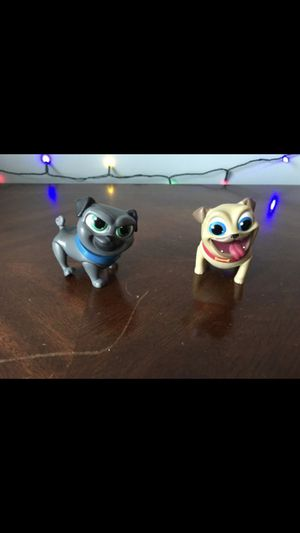 Puppy Dog Pals figures, a bit dirty(shown in pictures) for Sale in Stroudsburg, PA